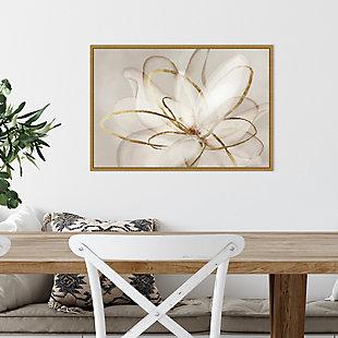 Amanti Art Transparent Beauty III (Floral) Framed Canvas Art, , rollover