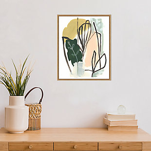 Amanti Art Tropical Abstract I Framed Canvas Art, , rollover