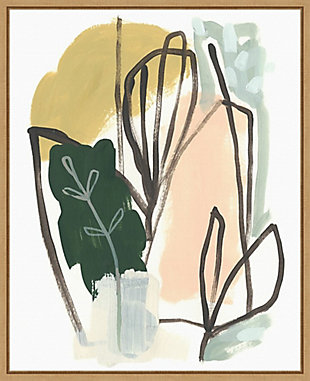 Amanti Art Tropical Abstract I Framed Canvas Art, , large