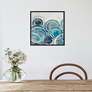 Amanti Art Variation Blue Gray II Framed Canvas Art, , rollover