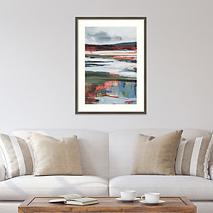 Amanti Art Before Night Falls II by A. Fitzsimmons Framed Art Print, Gray, rollover