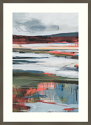 Amanti Art Before Night Falls II by A. Fitzsimmons Framed Art Print, Gray, large