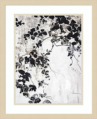 Amanti Art Black Leaves by Design Fabrikken Framed Art Print, , large