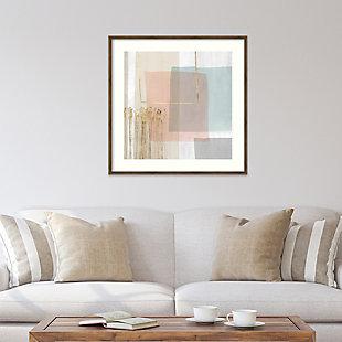Amanti Art Blushed I by PI Studio Framed Art Print, Bronze, rollover