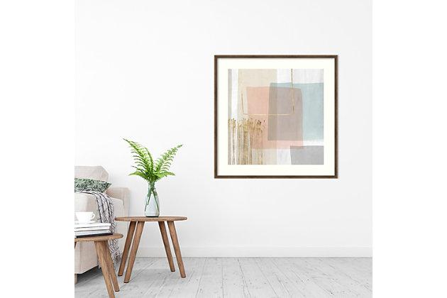 Amanti Art Blushed I by PI Studio Framed Art Print, Bronze, large