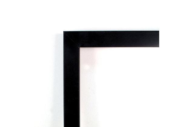 Amanti Art Bright Mood I (Leaves) by Isabelle Z Framed Art Print, Black, large