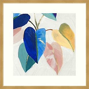 Amanti Art Bright Mood I (Leaves) by Isabelle Z Framed Art Print, , large