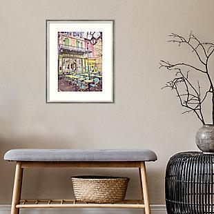 Amanti Art Cafe de France by Dawne Polis Framed Art Print, , rollover