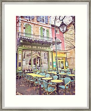 Amanti Art Cafe de France by Dawne Polis Framed Art Print, , large
