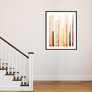 Amanti Art Coral Reach I by Grace Popp Framed Art Print, Black, large