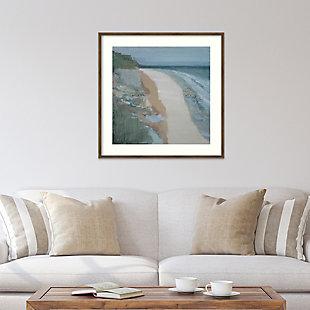 Amanti Art Covehithe Beach Seascape by Caroline Gold Framed Art Print, , rollover