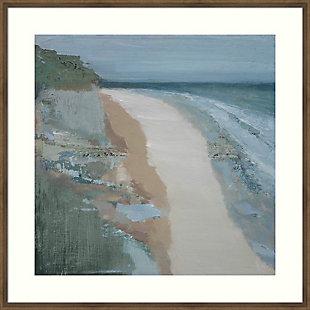 Amanti Art Covehithe Beach Seascape by Caroline Gold Framed Art Print, , large