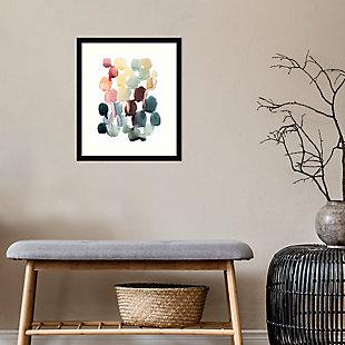 Amanti Art Desert Stones II by Grace Popp Framed Art Print, Black, rollover