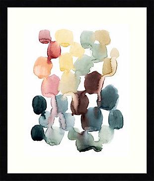 Amanti Art Desert Stones II by Grace Popp Framed Art Print, Black, large