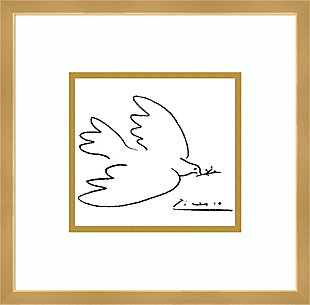 Amanti Art Dove of Peace by Pablo Picasso Framed Art Print, , large