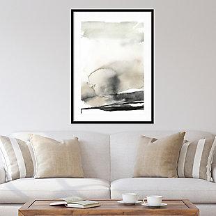 Amanti Art Ebony Horizon Triptych II  Framed Wall Art Print, Black, rollover