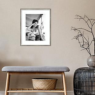 Amanti Art Elizabeth Taylor  Framed Wall Art Print, , rollover