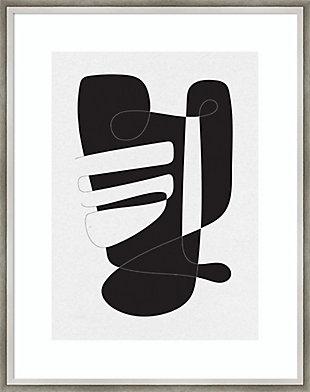 Amanti Art Graphical 4 by Design Fabrikken Framed Art Print, , large
