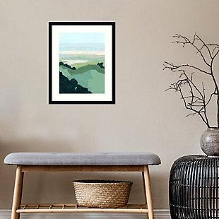 Amanti Art Halcyon Overlook I by Grace Popp Framed Art Print, Black, rollover