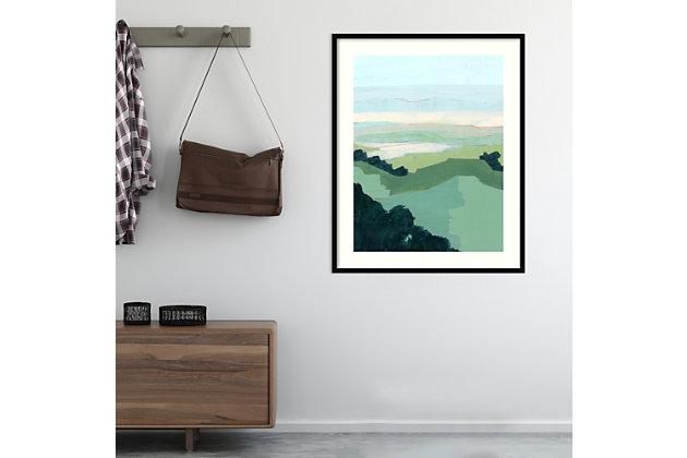 Amanti Art Halcyon Overlook I by Grace Popp Framed Art Print, Black, large