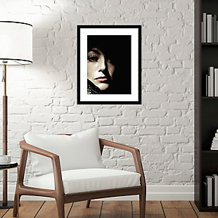 Amanti Art Joan Crawford by Hollywood Photo Archive Framed Art Print, Black, large