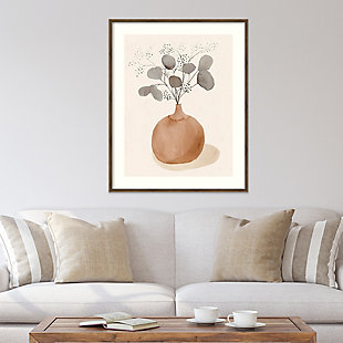 Amanti Art La Planta I (Floral Vase)  Framed Wall Art Print, , rollover