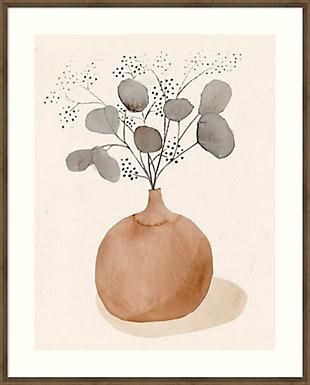 Amanti Art La Planta I (Floral Vase)  Framed Wall Art Print, , large