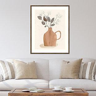 Amanti Art La Planta II (Floral Vase)  Framed Wall Art Print, , rollover