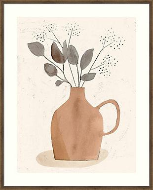 Amanti Art La Planta II (Floral Vase)  Framed Wall Art Print, , large