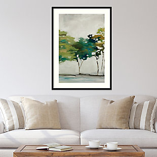 Amanti Art Late Summer Trees II by Jacqueline Ellens Framed Art Print, Black, rollover