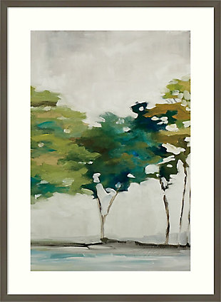 Amanti Art Late Summer Trees II by Jacqueline Ellens Framed Art Print, Gray, large