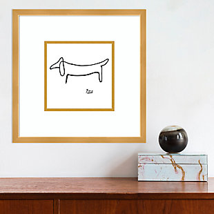 Amanti Art Le Chien (The Dog) by Pablo Picasso Framed Art Print, , rollover
