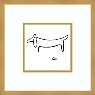 Amanti Art Le Chien (The Dog) by Pablo Picasso Framed Art Print, , large