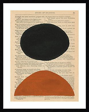 Amanti Art Modern Prose III by W. Stramel Framed Art Print, Black, large