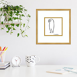 Amanti Art Owl by Pablo Picasso Framed Art Print, , rollover
