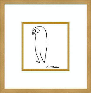Amanti Art Owl by Pablo Picasso Framed Art Print, , large
