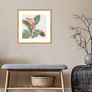 Amanti Art Pink Ficus I by Asia Jensen Framed Art Print, , rollover