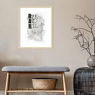 Amanti Art Rock and Roll by Design Fabrikken Framed Art Print, , rollover