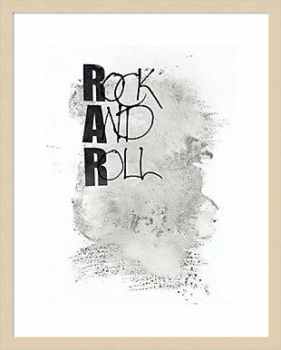 Amanti Art Rock and Roll by Design Fabrikken Framed Art Print, , large
