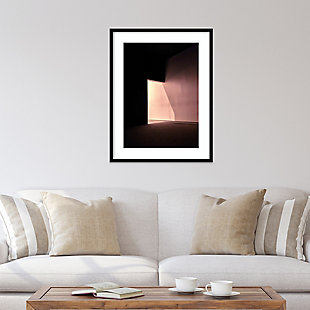 Amanti Art Room 1 by Design Fabrikken Framed Art Print, Black, rollover