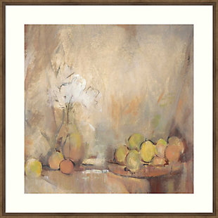Amanti Art Still Life with Fruit in Study  Framed Wall Art Print, , large