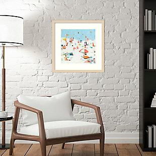 Amanti Art Summer Confetti III by Emma Scarvey Framed Art Print, , rollover