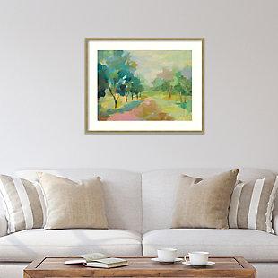 Amanti Art Sunrise Forest by Silvia Vassileva Framed Art Print, , rollover