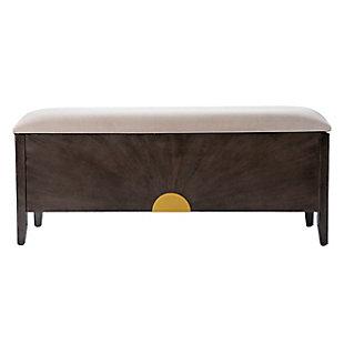 Southern Enterprises Teddiegh Storage Bench, , large
