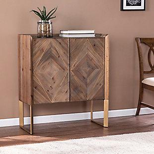 Southern Enterprises Hana Reclaimed Wood Cabinet, , rollover