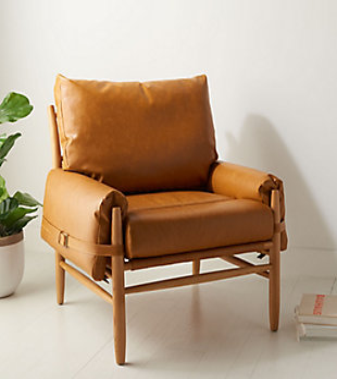 Safavieh Oslo Arm Chair, , rollover