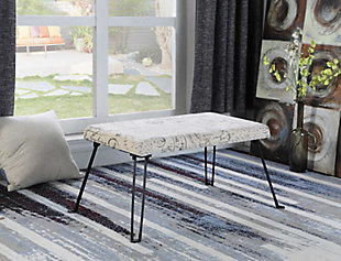 ORE International Old World Backless Accent Seat, , rollover