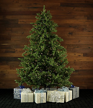 9-Ft. Foxtail Pine Christmas Tree with Smart String Lighting, , rollover