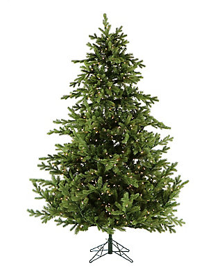 9-Ft. Foxtail Pine Christmas Tree with Smart String Lighting, , large