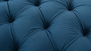 Jennifer Taylor Home Renee Storage Bench, Teal Blue, large